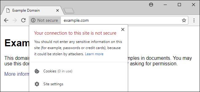 chrome error page