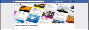 Facebook instant article