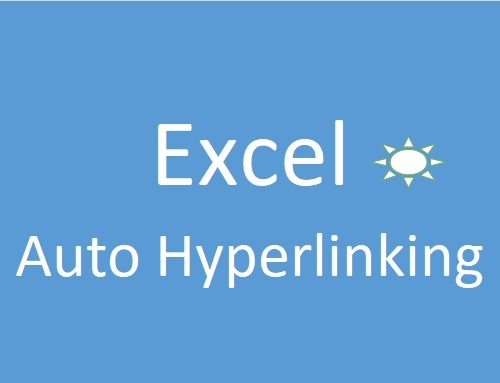 How to Stop Excel to make auto hyperlink