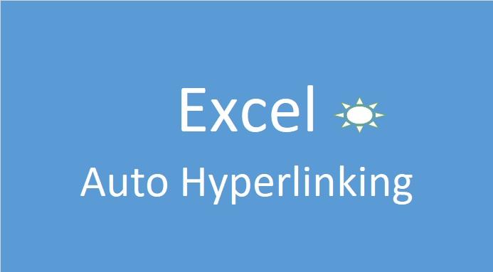 Auto Hyperlink