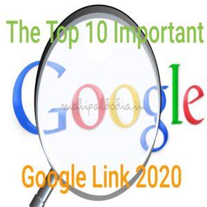 google important link